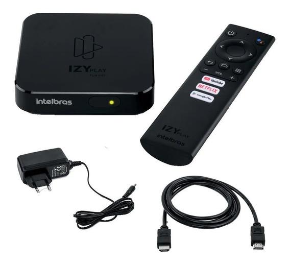 Transforme Sua Tv, Izy Play Smart Intelbras (comando De Voz)
