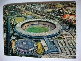 Cartão Postal Antigo Estádio Maracanã
