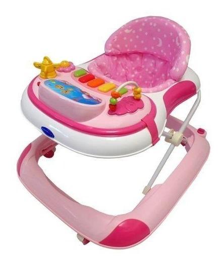 Caminador De Actividades Musical Rosa Cm-002 De Happy Baby