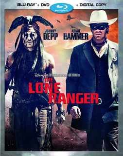 Blu-ray : - The Lone Ranger (with Dvd, Digital Copy, 2...