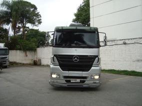 Mb Axor 2040-s 10/10 Prata Premium Gustavo Caminhões Top !!!