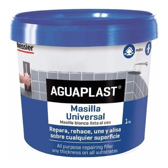 Masilla Para Azulejos Y Vidrios Aguaplast X 1kg
