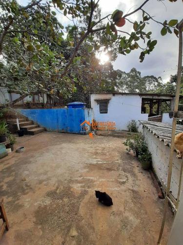 Imagem 1 de 22 de Chácara Com 2 Dormitórios À Venda, 1000 M² Por R$ 212.000,00 - Água Azul - Guarulhos/sp - Ch0015