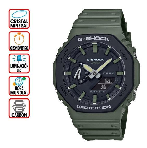 Reloj Casio G-shock Youth Ga-2110su-3 Serie Utility Color