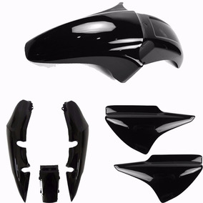 Kit Carenagem Titan 150 2004 A 2008 Preto Sportive