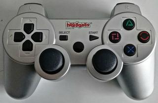 Joystick Pc Ps2 Ps3 Inalambrico Con Bateria - Konigames
