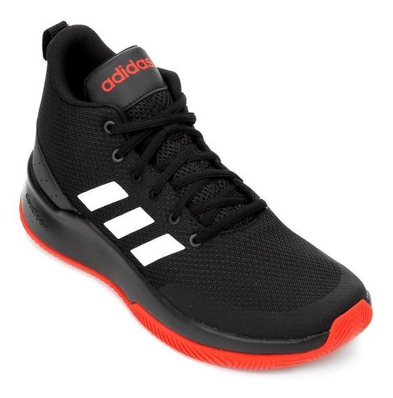 Tênis Cano Alto adidas Speed End2end - Masculino - Preto/vermelho