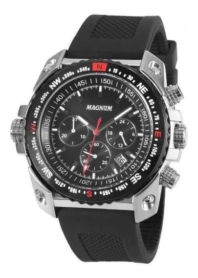 Relógio Magnum Masculino Cronógrafo Ma34209t 2 Anos Garantia