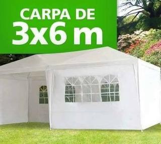 Toldo Carpa 3x6m Mainstays Con Paredes Gazebo Nuevos