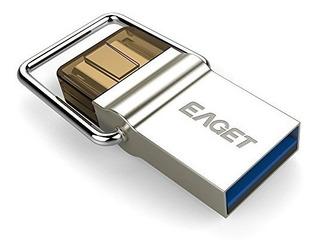 Unidad Flash Usb Dual 32g Usb Tipo Eaget C 3.1 Usb 3.0 Mic