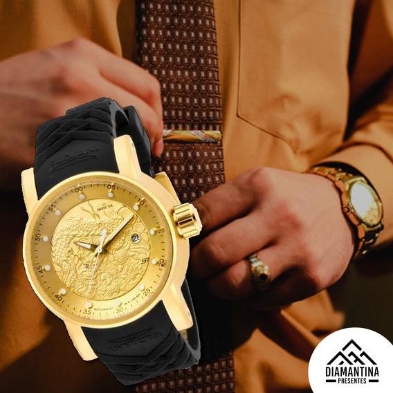 Relógio Masculino Invicta Yakuza Grande Luxo Frete Grátis