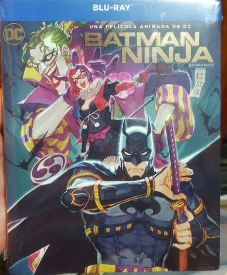 Batman Ninja Blu Ray Slipcover