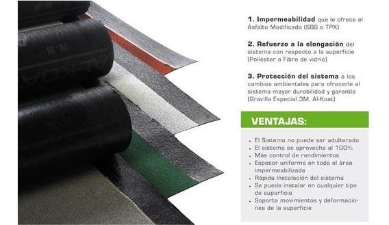 Al-koat Rollo Prefabricado Súper Premium 3.5vg Envío Gratis
