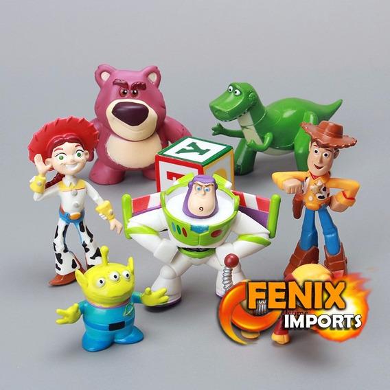 Bonecos Toy Story Lote De 07 Figuras Woody, Buzz
