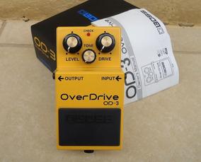 Pedal Boss Od-3 Over Drive Novo Para Guitarra