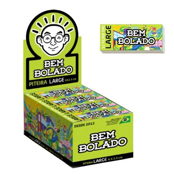 Caixa Piteira Papel Bem Bolado Verde Limão Barato Promoção