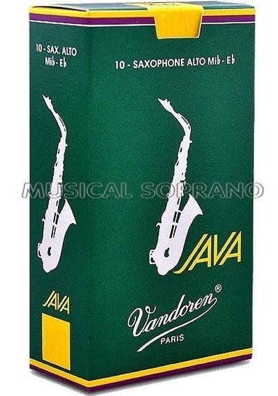 Palhetas Vandoren Java Sax Alto (caixa Com 10) - Nº 2