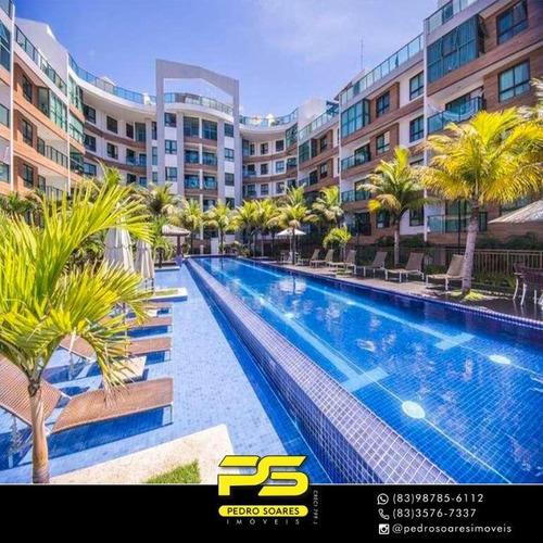 Imagem 1 de 15 de Cobertura Com 3 Dormitórios À Venda, 278 M² Por R$ 1.500.000 - Cabo Branco - João Pessoa/pb - Co0058