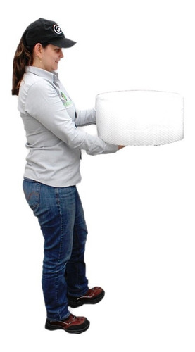 Imagen 1 de 7 de E Rollo Plástico Burbuja De 20cm X 50 Metros Envío Incluido