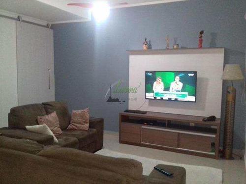 Lindo Sobrado Vila Valença 3 Dormitórios, Sendo 1 Suíte São Vicente - V6099