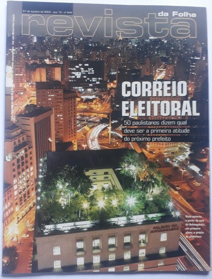 Revista Da Folha S. Paulo Set/outubro 2004 -11 Revistas