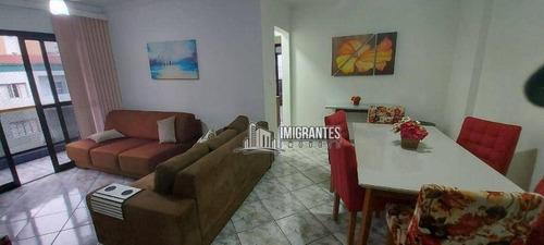 Imagem 1 de 25 de Apartamento De 2 Dormitórios, Sendo 1 Suíte, Na Tupi, Em Praia Grande - Ap2637