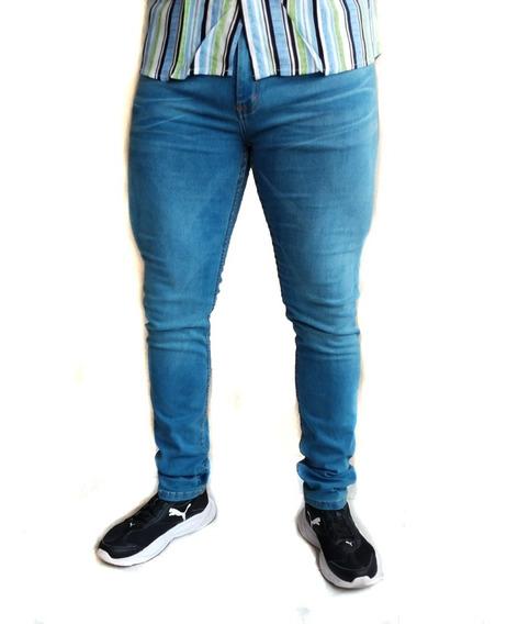 Pantalon Caballero Super Skinny Gran Comodidad Strech