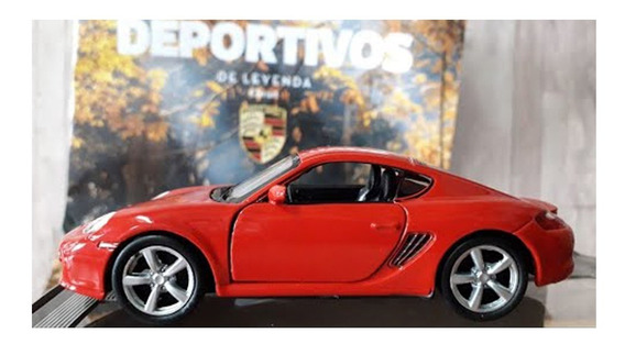 Coleccion Autos Deportivos De Leyenda N°9 Porsche Cayman S