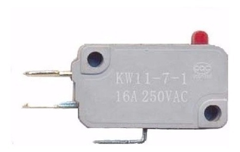 Chave Micro Switch Para Forno Microondas 16a 250v Ac 3 Term