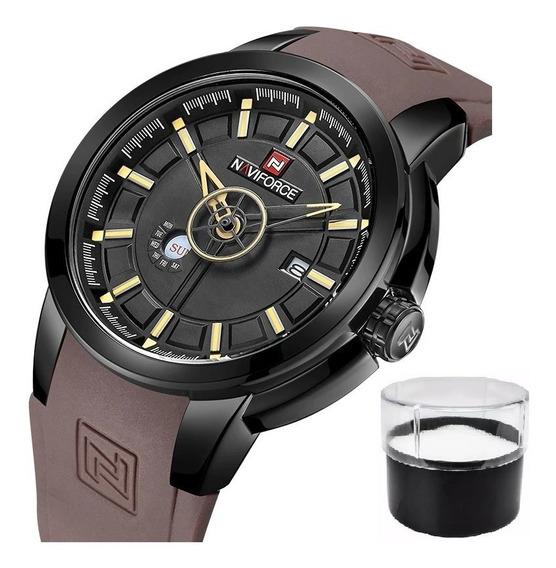 Relógio Naviforce 9107 Original Com Nota Fiscal E Estojo