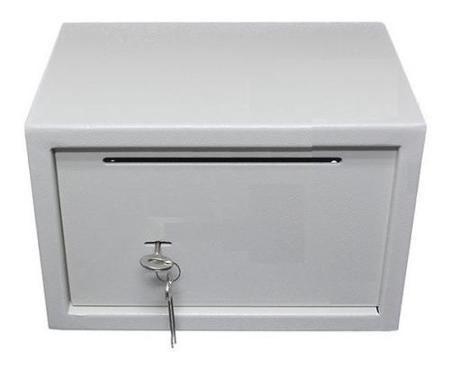 Caja Fuerte Para Abulonar A Pared Piso Con Buzon 20x31x20