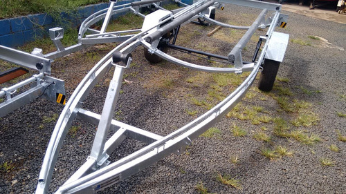 Carreta Bote Zefir 4.20 Ou Flexboat Sr 15 Freehobby 2020