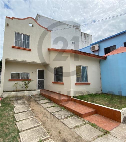 Renta De Casa Cerca Del Imss, Col. Esfuerzo Nacional, Cd. Madero, Tamps.