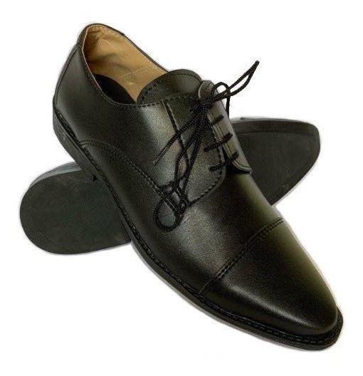 Zapato Punta Fina Simil Cuero 39 Al 45