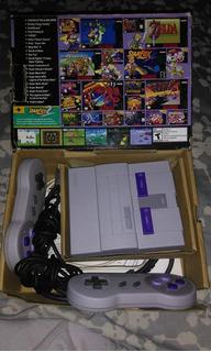 Snes Classic Edition 20 Juegos -como Nueva-
