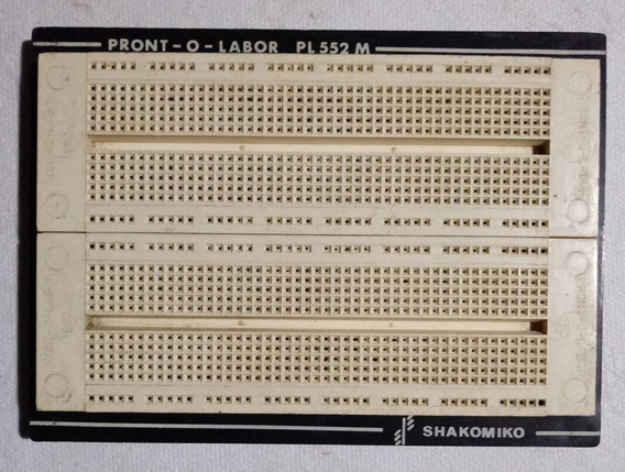 Protoboard Pront-o-labor Pl552m, 1.260 Furos/pontos/pinos
