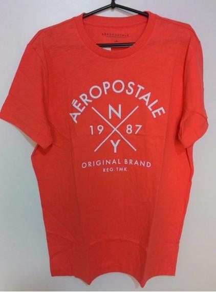 Kit 2 Camiseta Aeropostale 100% Original Eua Importada Frete Grátis