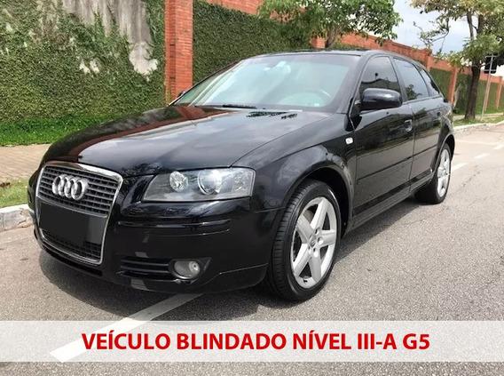 Audi A3 2008 Blindada + Multimidia + 2 Dono
