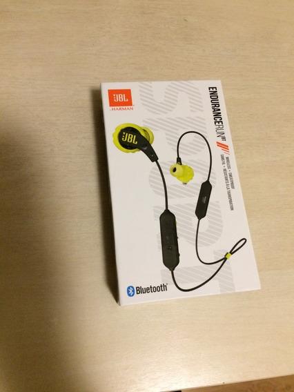 Fone De Ouvido Bluetooth Jbl Endurance Run Bt Preto Amarelo
