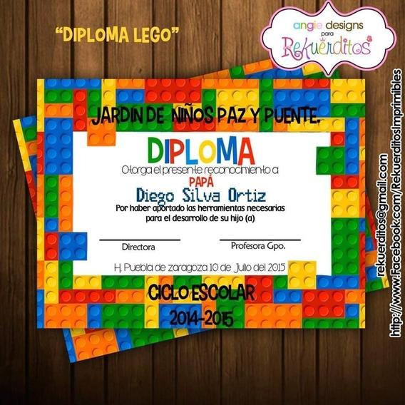 Kit Imprimible Diplomas Egresados Jardin Infantil Kdkt0185