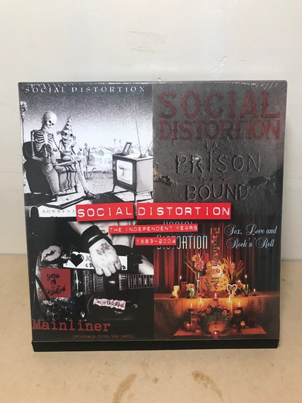Boxset Social Distortion -the Independent Years (83-04)/4lp)