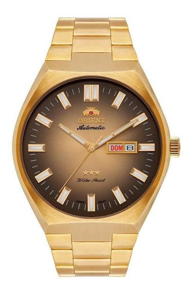 Relógio Orient Masculino 469gp086 C1kx Automático Dourado