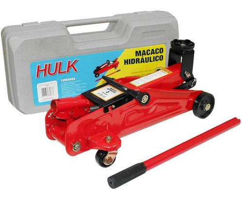 Macaco Hidraulico Jacare 2t Com Maleta Jacarezinho