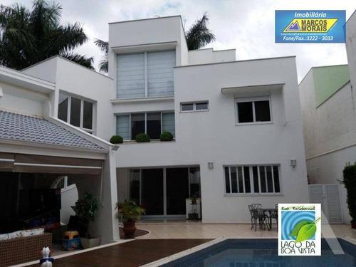 Belíssima Residência No Lago Da Boa Vista - Ca2601