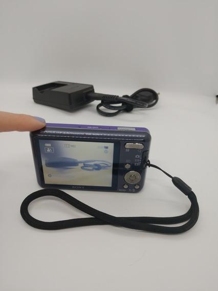 Câmera Sony Cyber-shot Violeta 16.1mp