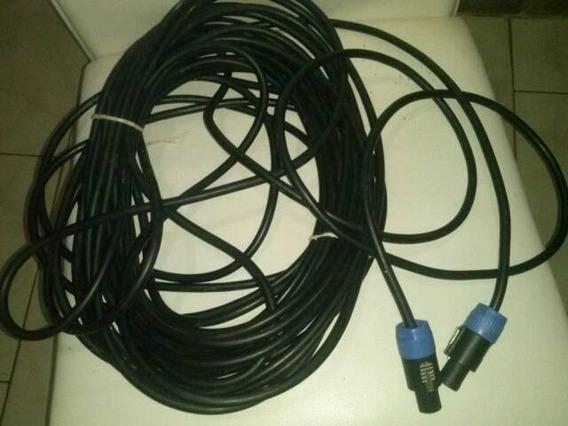 Cable 12 Con Conectores Speakon Neutrix 20 Metros