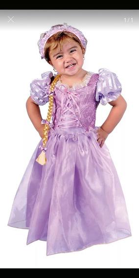 Disfraz Rapunzel Bebé Talla 12/18 Meses