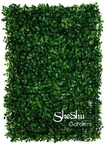 Jardin Vertical Artificial Panel Cesped Muro Verde Packx10u.