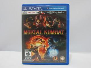 Mortal Kombat - Ps Vita ¡fisico-usado!