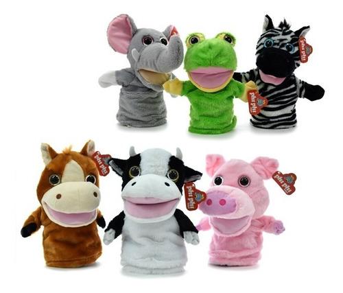 Peluche Titere Animales Mueven La Boca Phi Phi Toys 1604